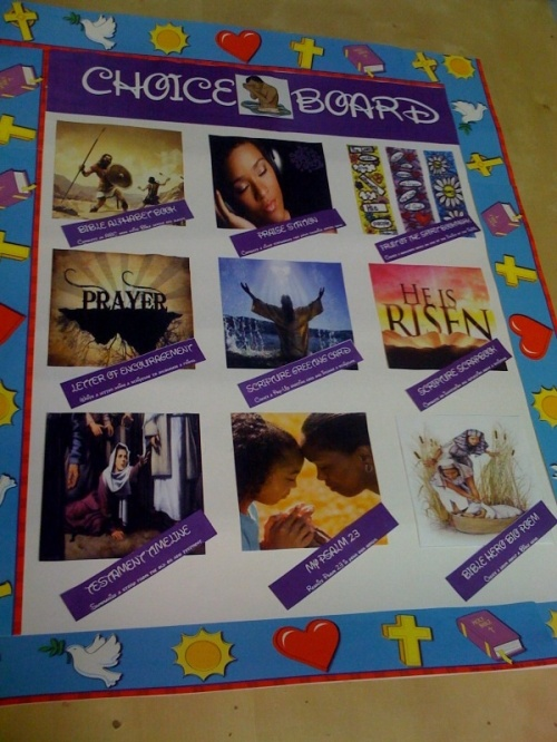 Christian Choice Board